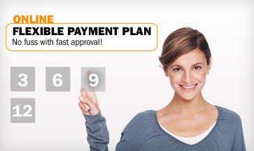 Online flexible payment plan – No fuss and fast approval!